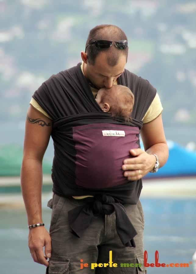 echarpe je porte mon bebe